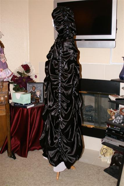 Lily Munster Costume (profile view with Cape)